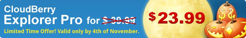 CloudBerry Explorer Pro for $23.99