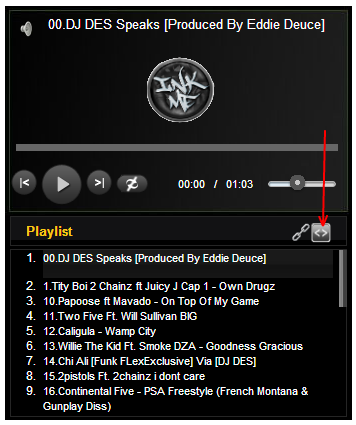 Embed Code option with HTML5 MP3 Player | HTML5 Player for