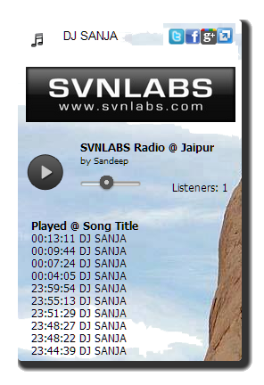 Create HTML5 Radio Player | HTML5 Player for Playlist