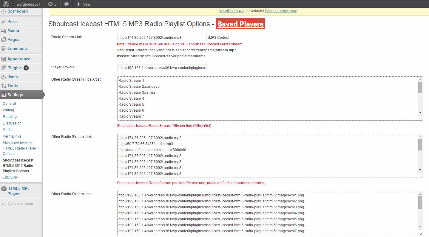 HTML5 MP3 Radio Playlist   HTML5 MP3 Player with Playlist